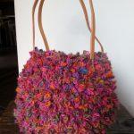 ニットバッグ イタリア製糸使用