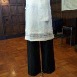 21015年夏のお洋服展刺繍ブラウス