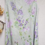 フランスリネン花柄チュニック