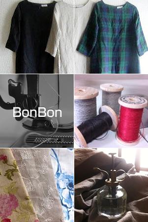 手作りのお洋服屋さんBonBon