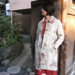 リネン薔薇コート