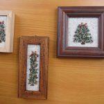中村裕子先生絵織りクリスマスツリー