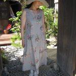 薔薇のジャンパースカート