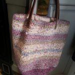 裂き編みバッグ
